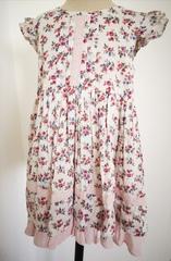 Flower Print Sleeveless Dress F3720