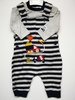 "Boys Dungaree and T-shirt Set ""Dump Here"" 1744"