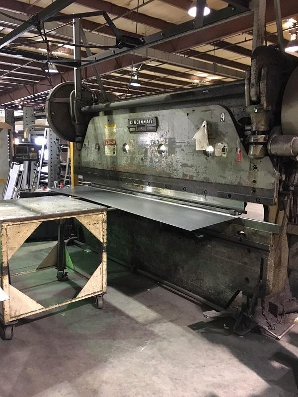 100 Ton x 12' Cincinnati Model Series 4 Press Brake