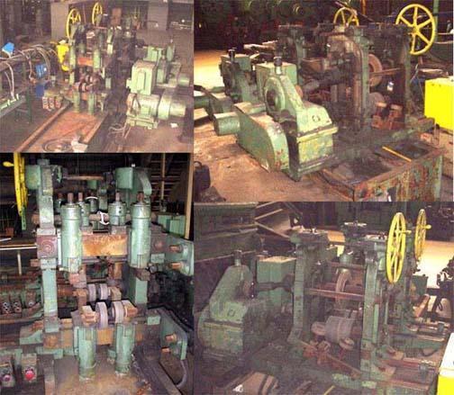 9' SUTTON 2-STAND STRAIGHTENING/CONTOUR CORRECTING MACHINE:  #13423