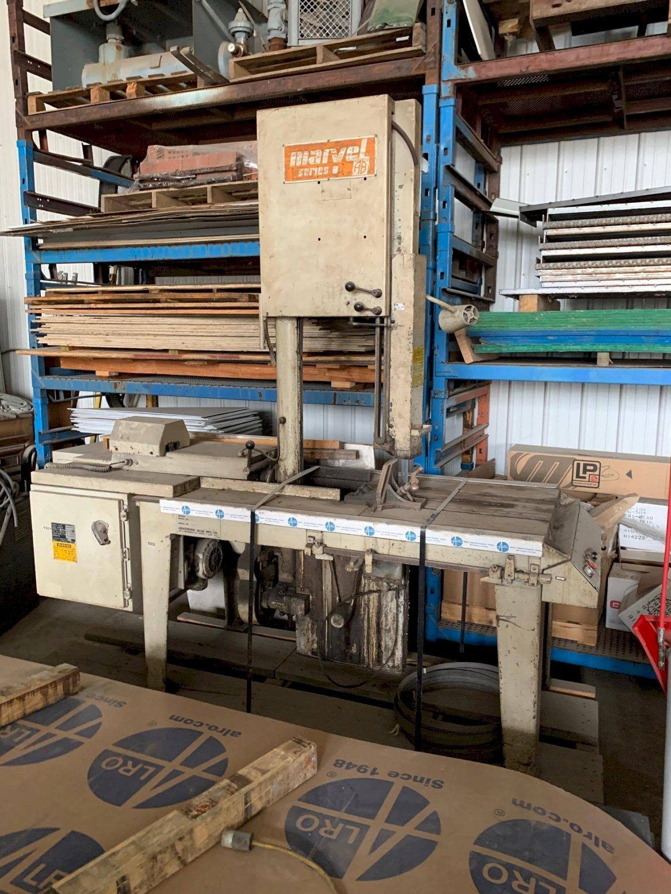 Marvel 8 Mark 1 Vertical Band Saw