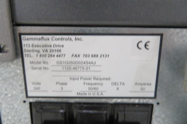 Gammaflux Used G24 Hot Runner Controller, 24 Zone, 240V, Yr 2020