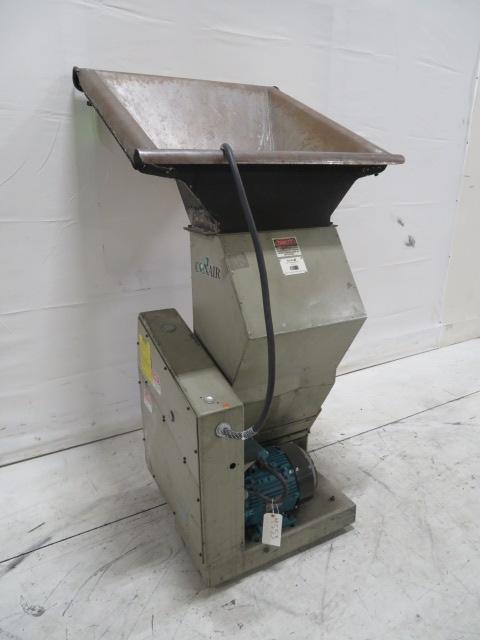 "Conair Used CR-617 Granulator, 37""x35""; 6""x16""; 3hp, 460V"