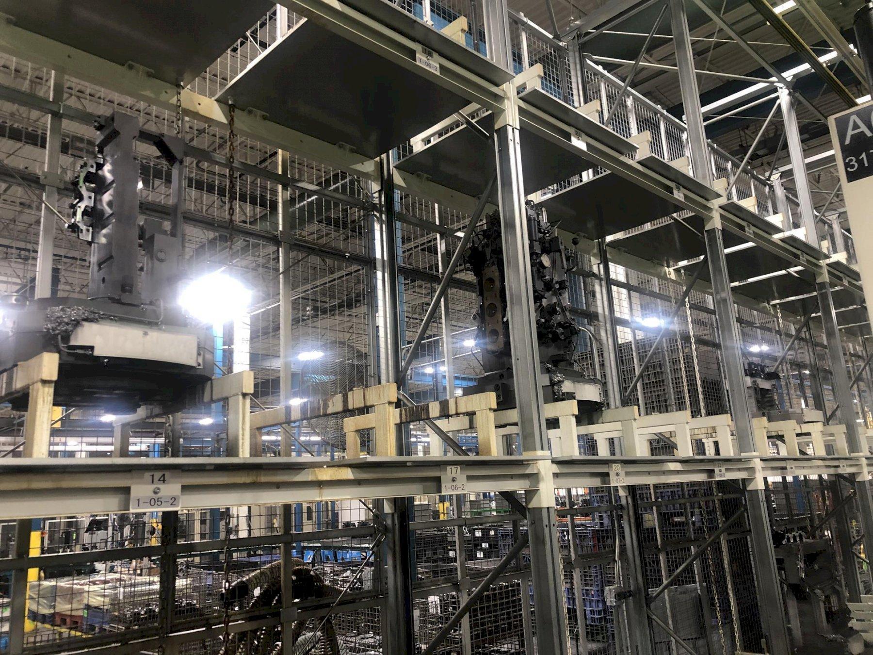 Makino MMC2 48 Station Pallet Pool - Flexible Machining System