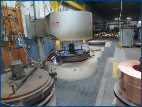SM ENGINEERING PIT TYPE BELL ANNEALING FURNACES   Our stock number: 113622