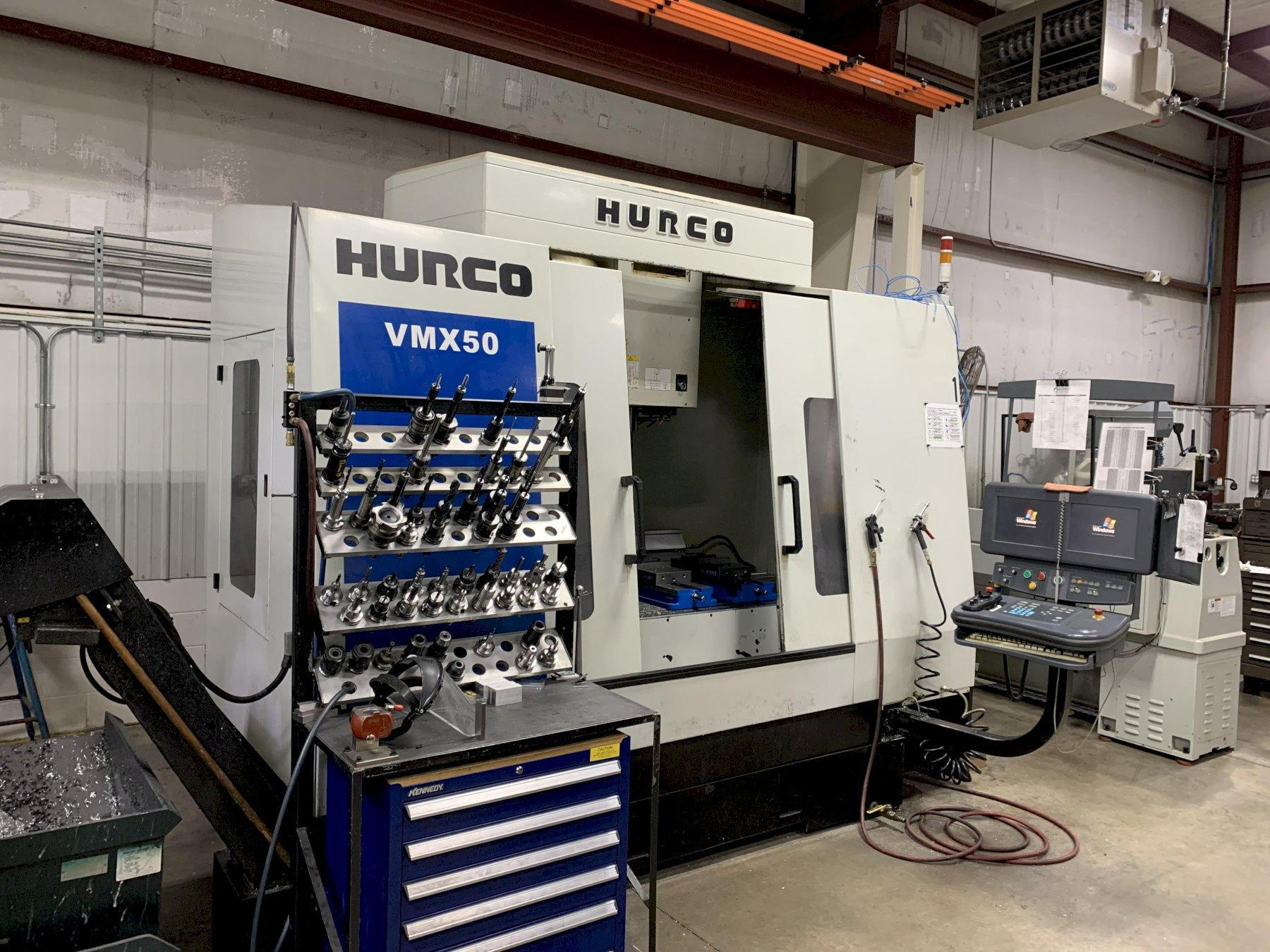 HURCO VMX-50 VERTICAL MACHINING CENTER