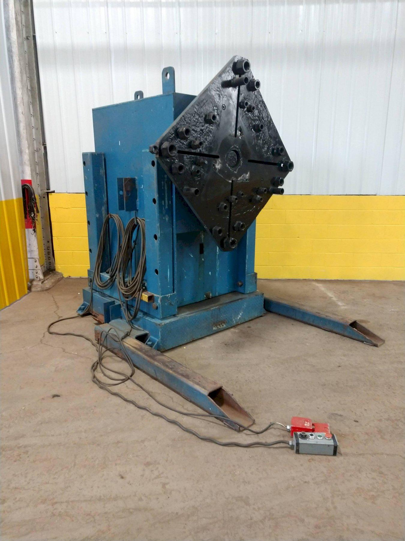 30,000 LBS RANSOME MODEL 15H ROTARY WELDING HEADSTOCK / POSITIONER: STOCK #12590