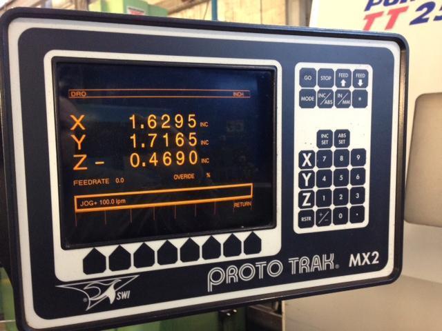 "CHEVALIER FM-3VKH, Southwest Industries 2-Axis Control, 10"" x 50"" Tbl, X=30"", Y=15"", Z=15"", 4500 RPM, 3-HP, New 1993."