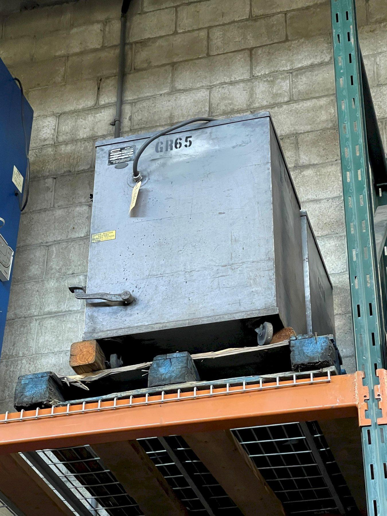 "Torit Model 64 Dust Collector, 500 CFM, 1 HP, 4"" Inlet Diameter, 230/460/3/60 Electrics."