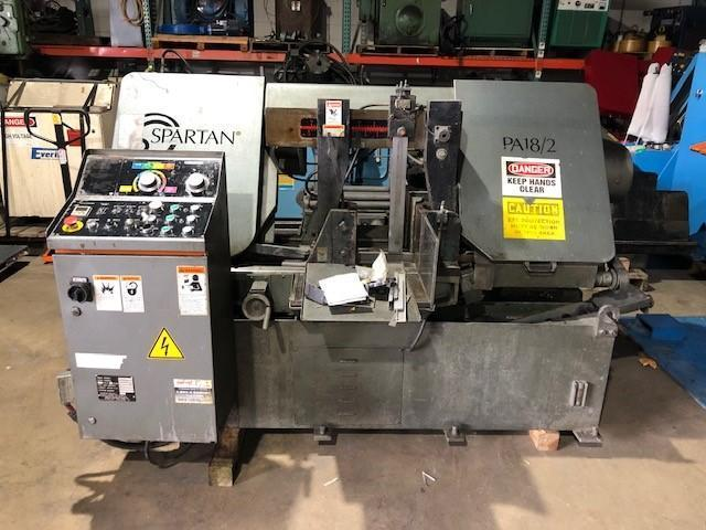 "18"" X 18"" Marvel Spartan  PA18/2 Horizontal Band Saw"
