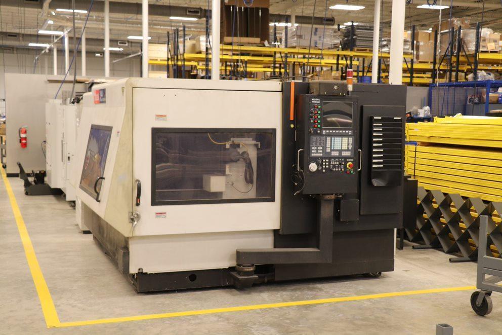 "MAZAK Super Turbo X 44 Laser Cutting System, 50""X, 50""Y, 5.5""Z, Mazatrol Preview CNC, 2007"