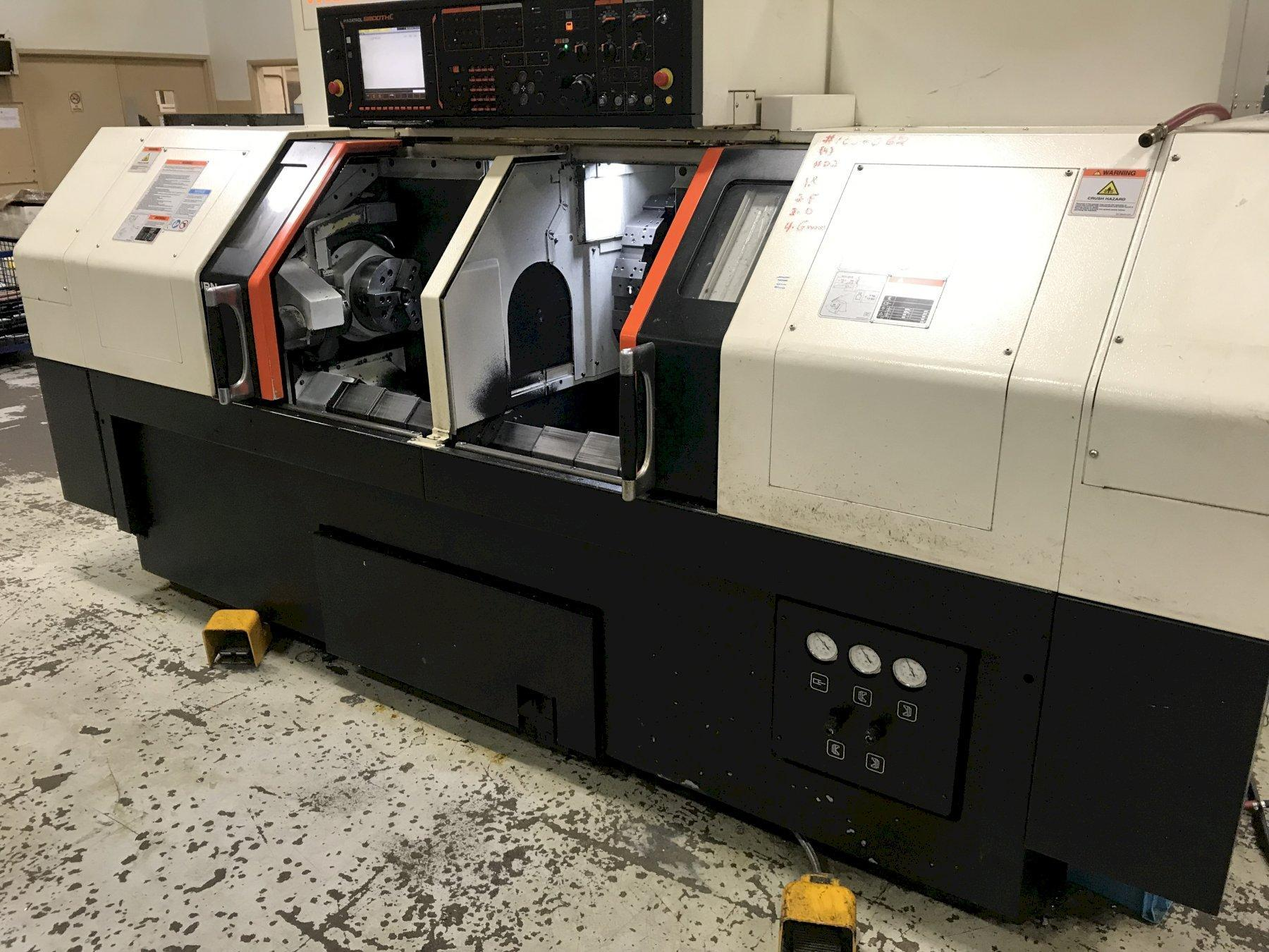 Mazak Dual Turn 200 CNC Lathe, Smooth C, (2)8