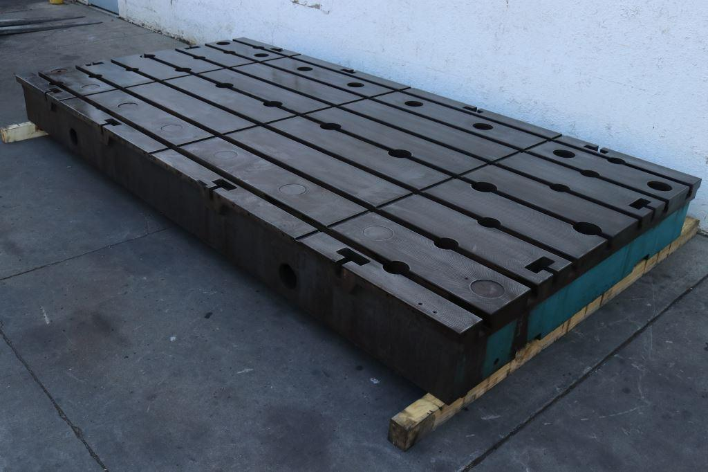 138' X 69' G & L T SLOTTED FLOOR PLATE: STOCK #73330