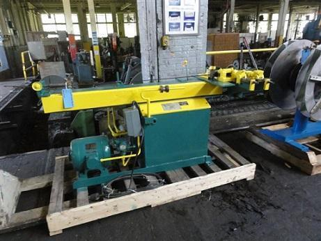 """1-1/8"""" PINES MODEL #MC-1400 TUBE BENDER   Our stock number: 109222"""