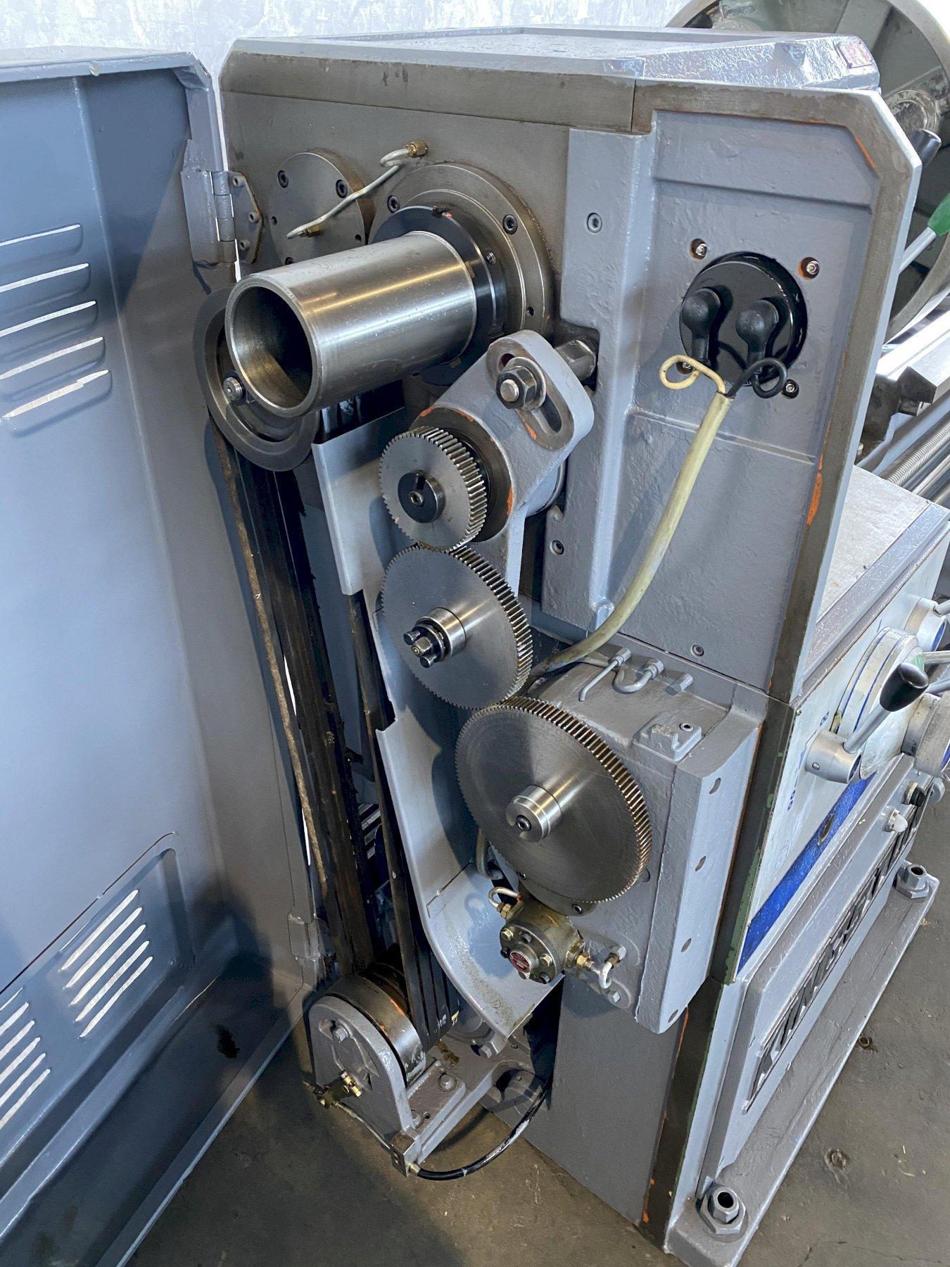 "25"" X 80"" KINGSTON HL-2000 GAP BED ENGINE LATHE. STOCK # 0847720"