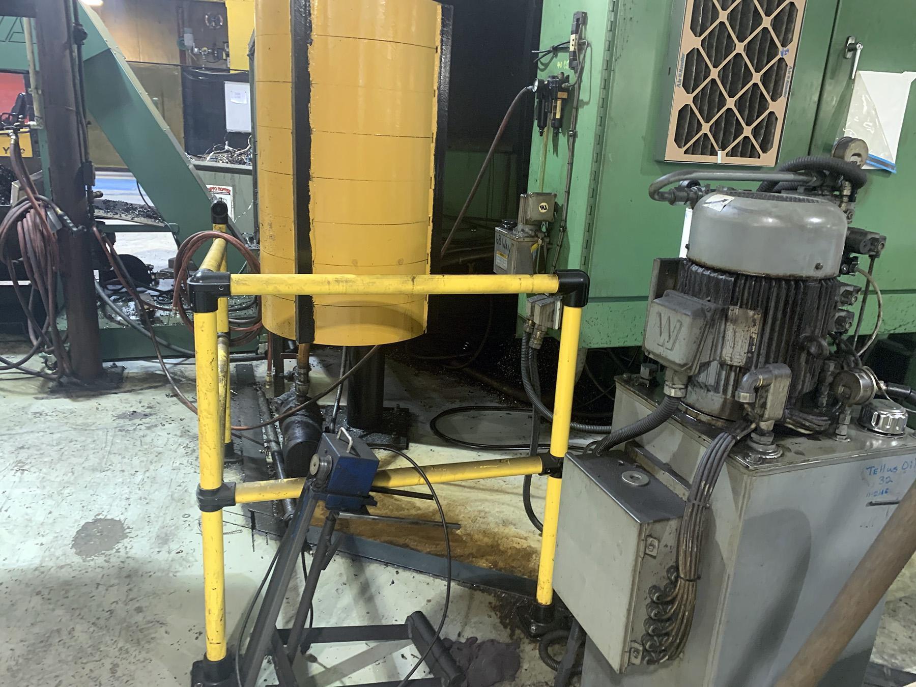 "USED, 57"" SUMMIT MODEL 60 VTL CNC VERTICAL BORING MILL"