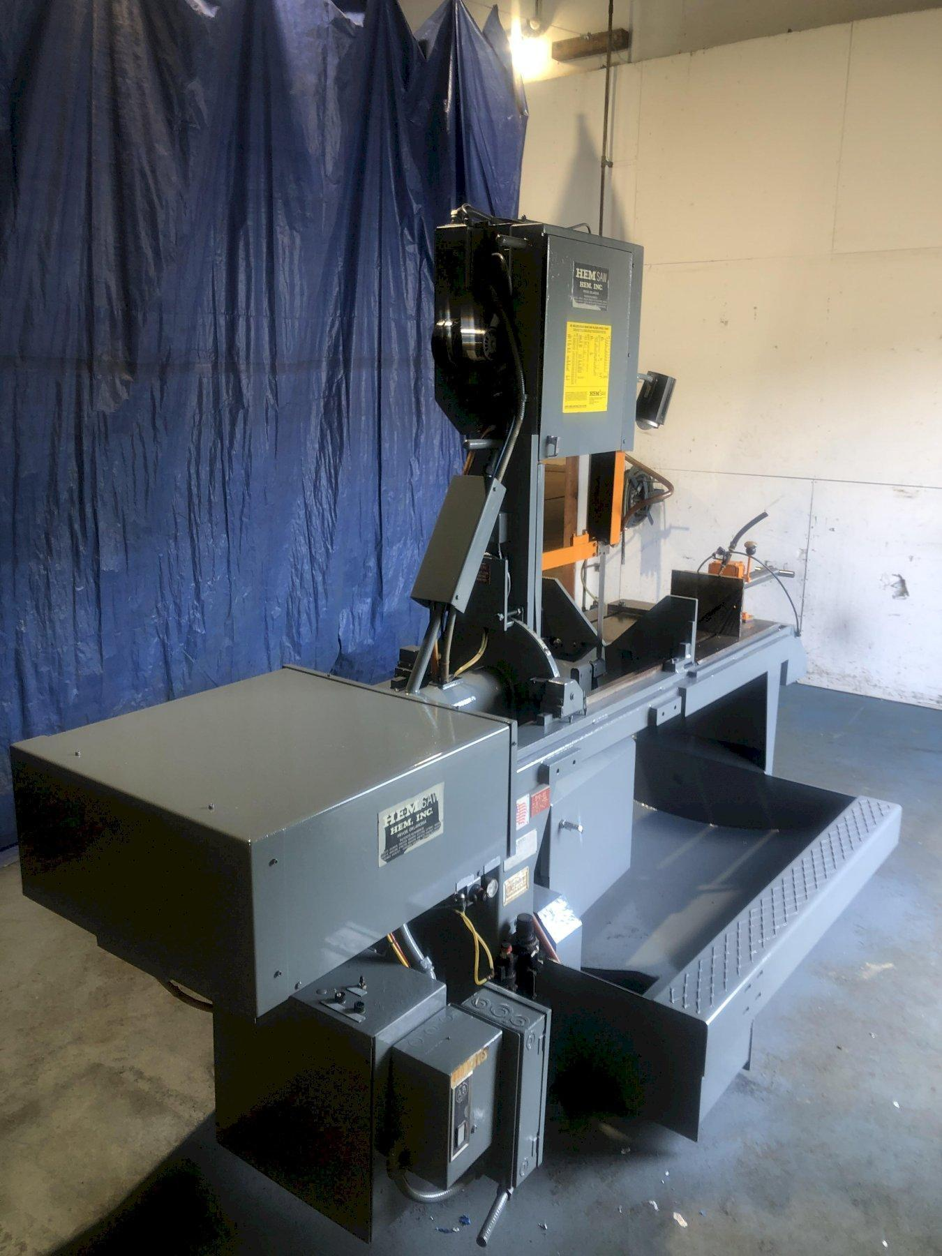 "18"" x 20"" HEM MODEL #V100LM-2 TILT FRAME VERTICAL BAND SAW"