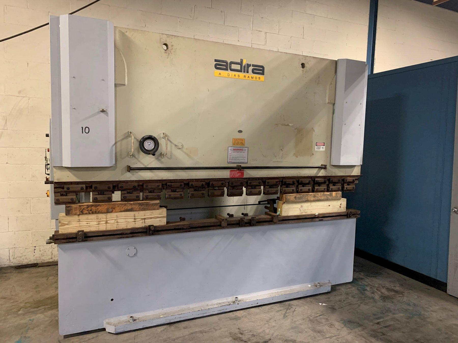 150 Ton x 10 ft Adira Hydraulic Press Brake Model QHD-13530