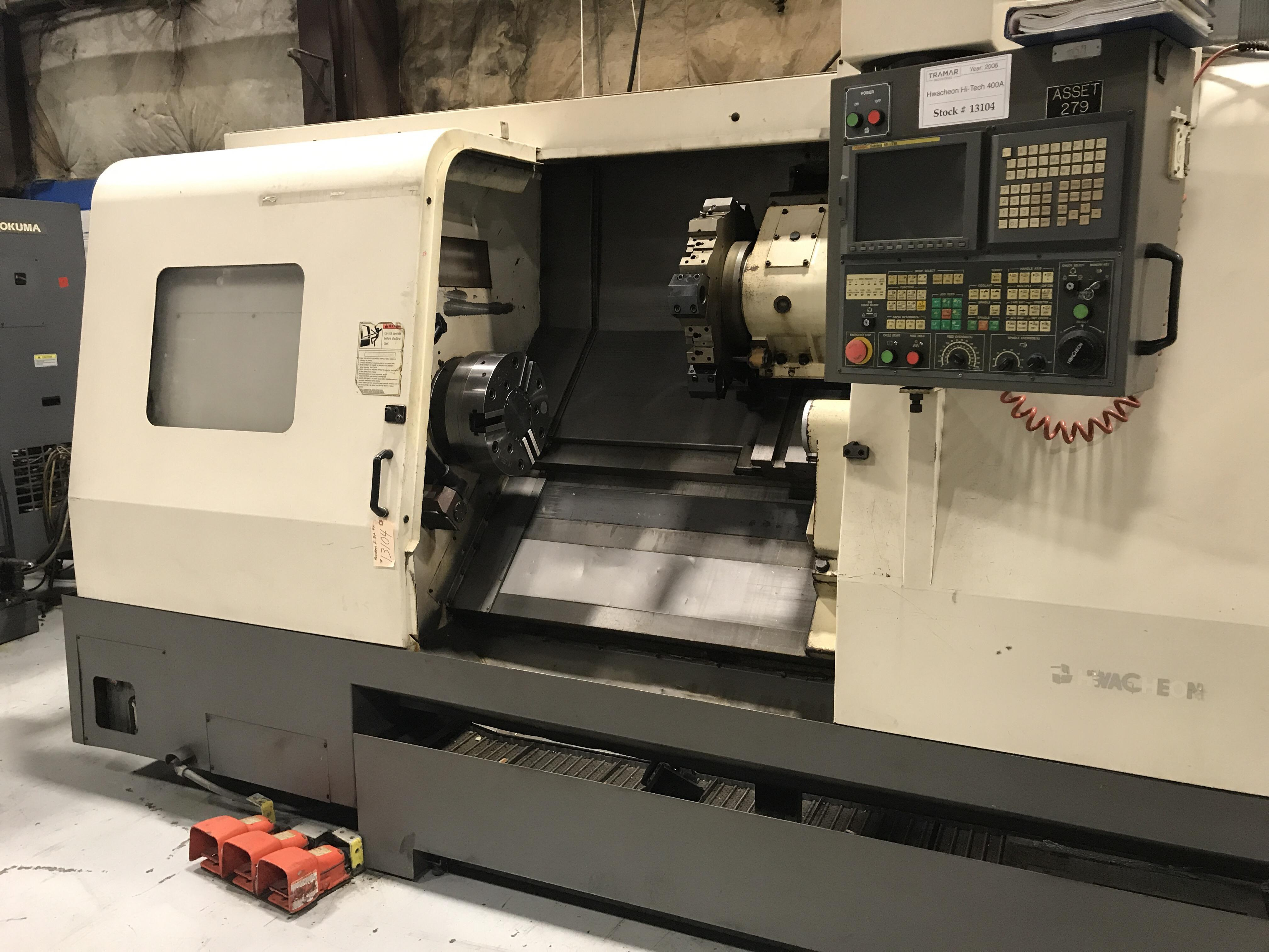 2006 HWACHEON Hi-Tech 400A - CNC Horizontal Lathe