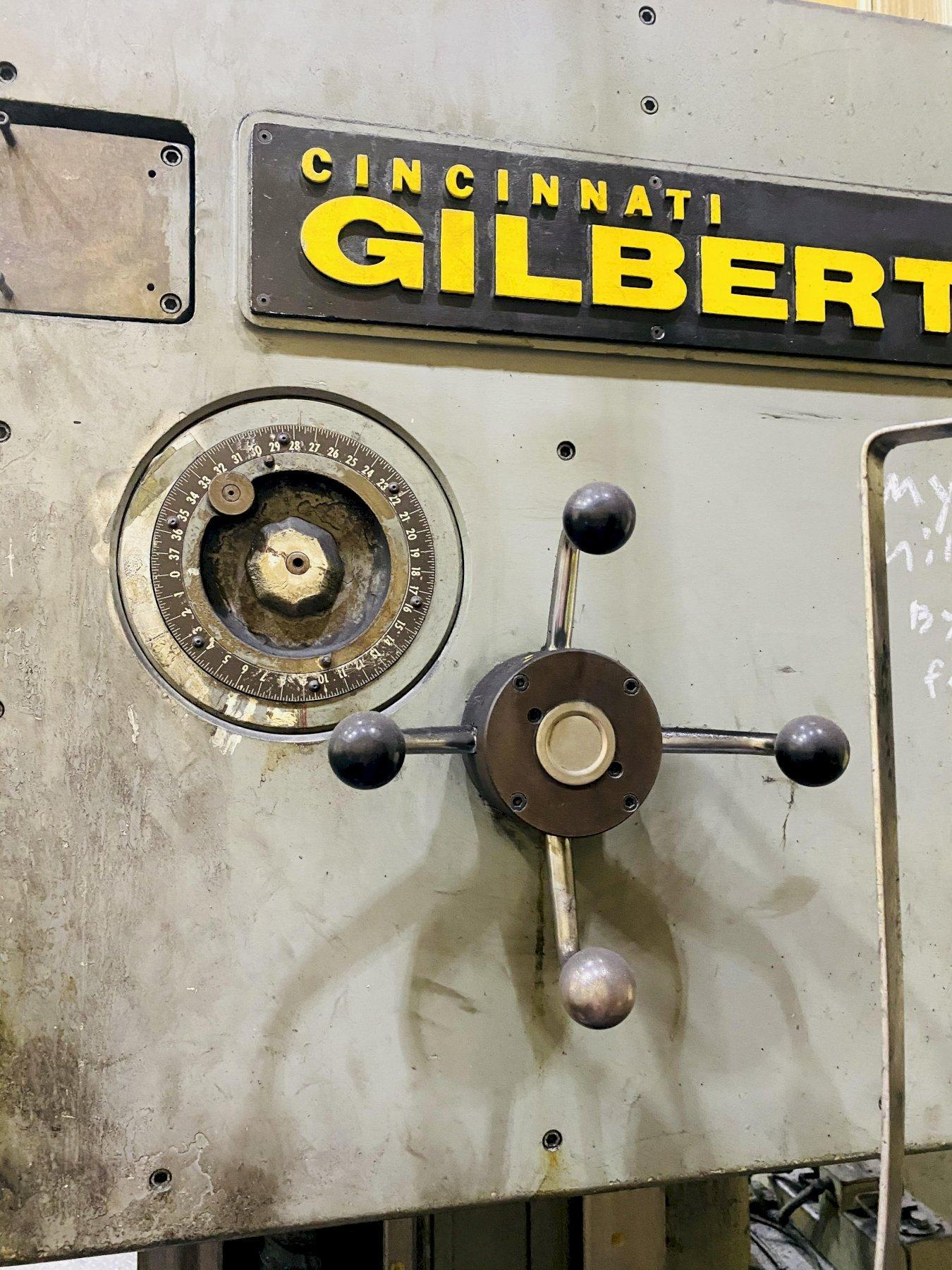 "5"" CINCINNATI GILBERT SERIES 5 TABLE TYPE HORIZONTAL BORING MILL STOCK # 0310621"