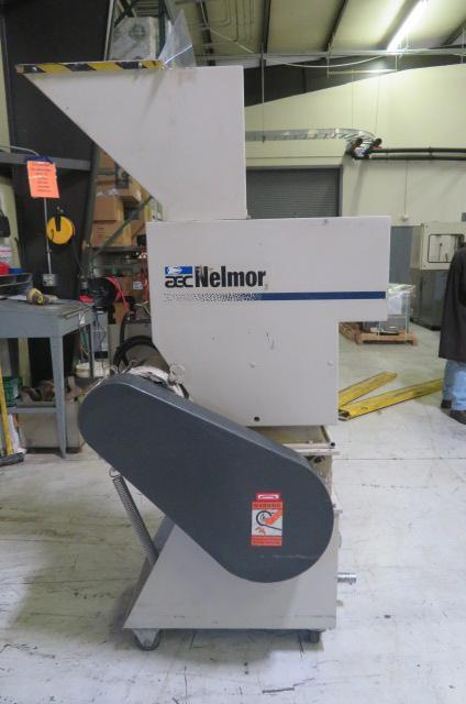 "AEC Used G1012P1 Granulator, Hand:12""x10"";Robot:12""x11"", 10hp, 460V, Yr. 1998"