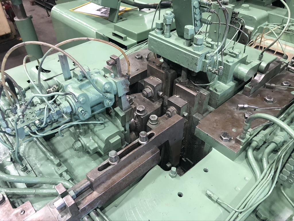 "1/2"" Waterbury Farrel Model #4 Universal Two Die Four Blow Transfer Header"
