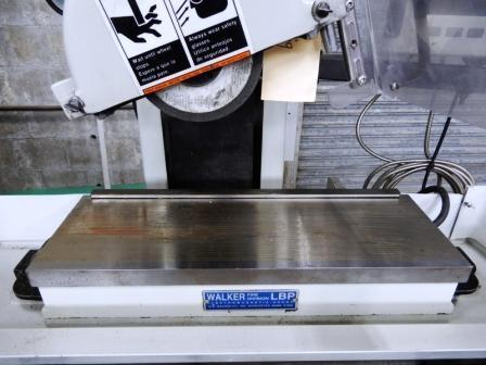"""6"""" x 18"""" HARIG HORIZONTAL SPINDLE SURFACE GRINDER, Model Autostep 3, Accurite DRO, 6"""" x 18"""" Mag. Chuck, Table Movement 6.75"""" x 20"""" , 3,450 Spindle RPM, Low Hours , New 2000."""
