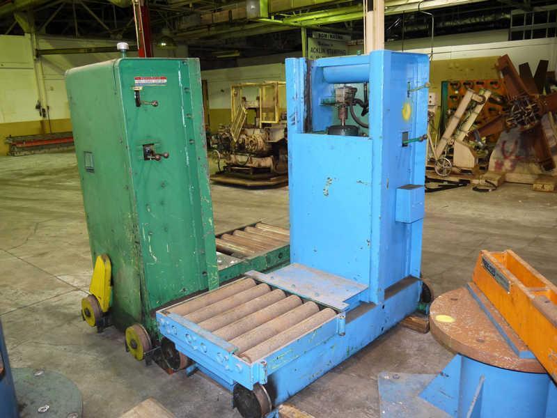 10,000# Revolvator Floor Type Coil Car
