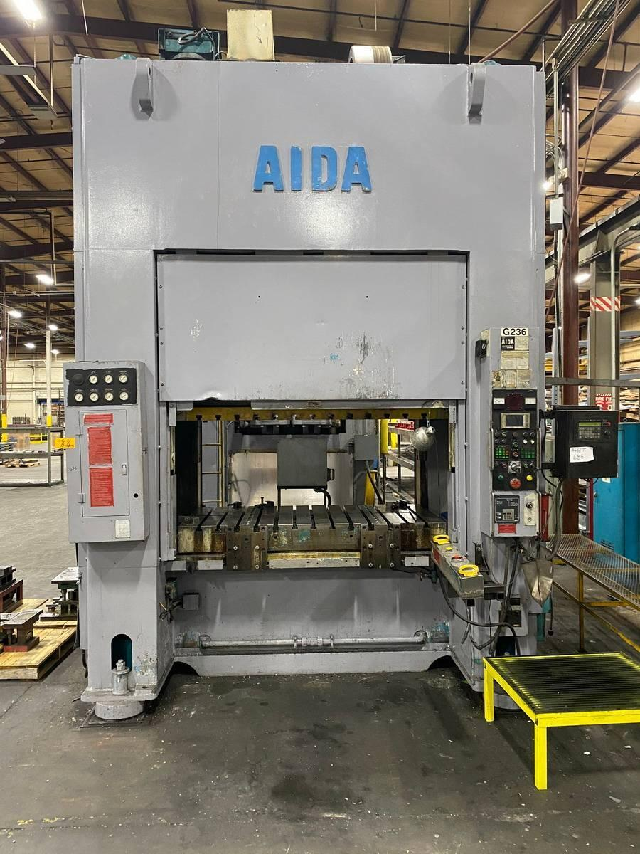330 ton Aida SMX-II-S2-300 (1)Straight Side Press New 1994