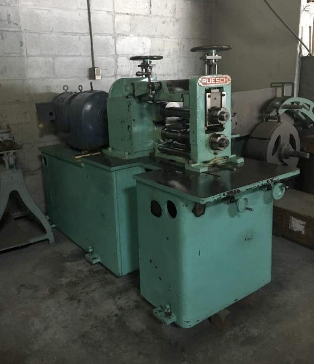 "RUESCH MODEL 149 2.625"" X 14"" PRECISION RING SLITTER"
