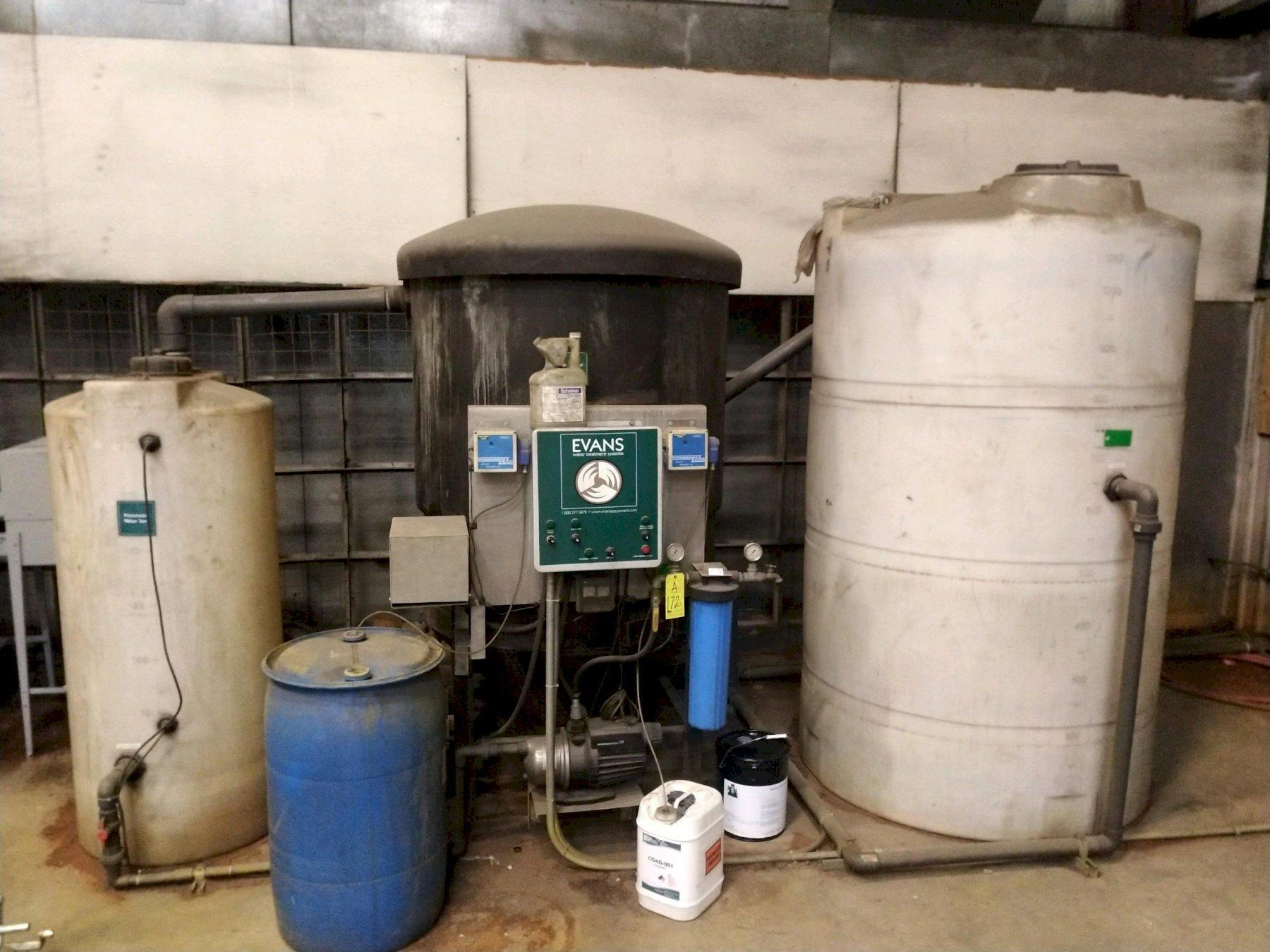 EVANS WATER TREATMENT SYSTEM: STOCK #12464