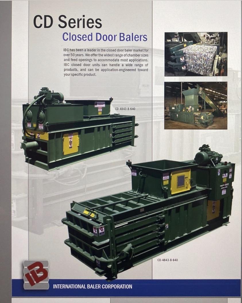 40 HP International Baler Corporation