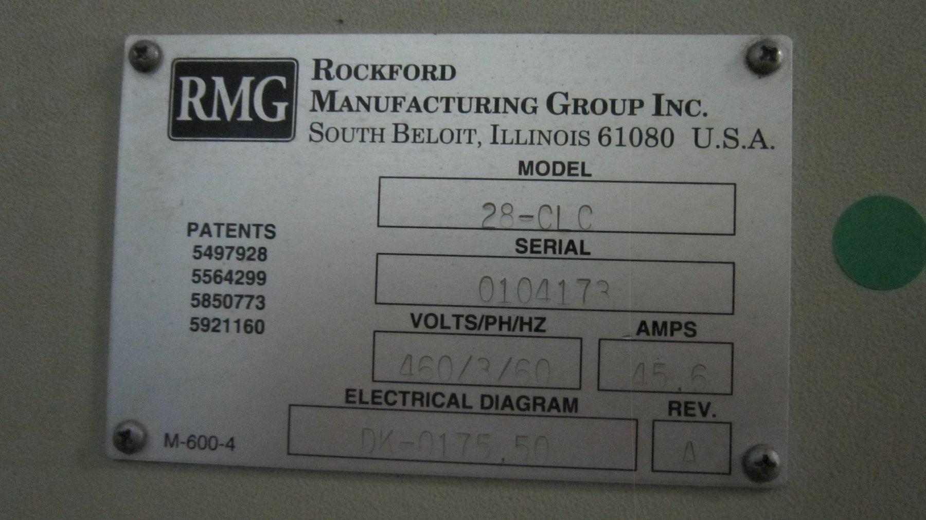 "1/2"" RMG Model 28 Clutchless Straighten & Cut Machine"