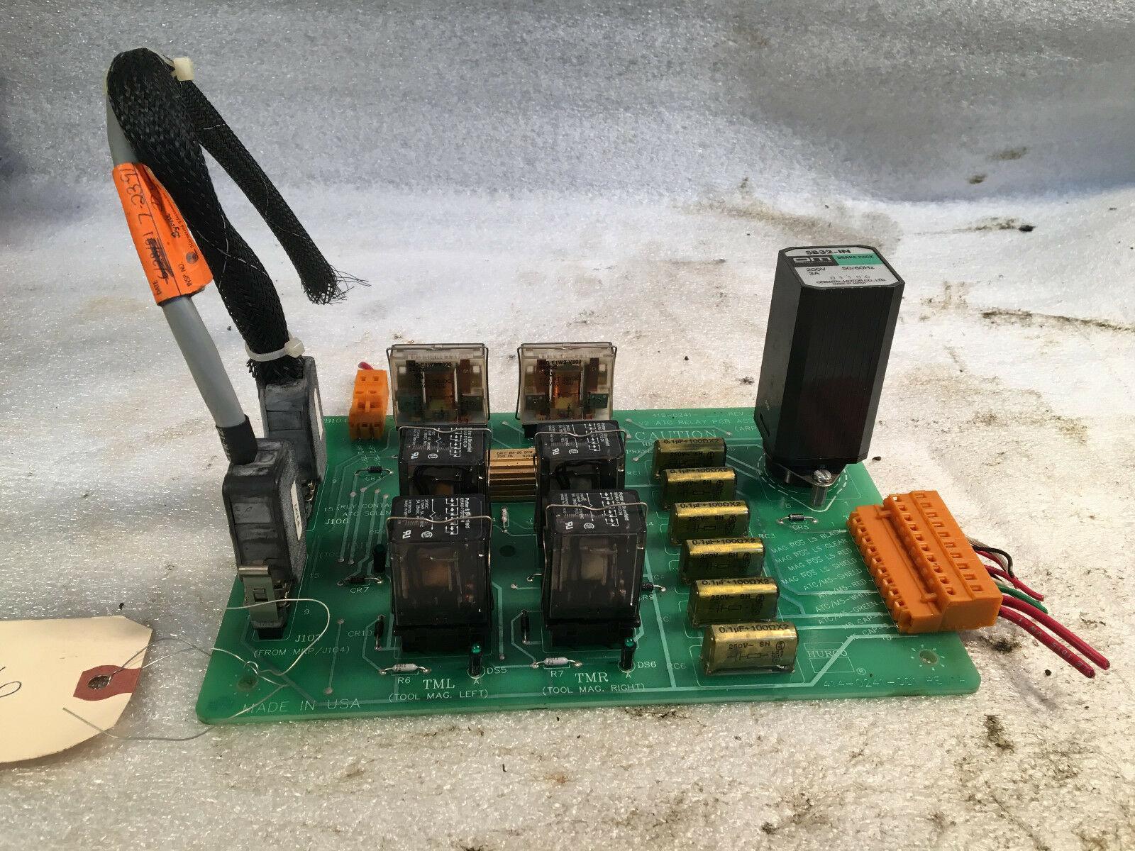 Yaskawa Board off of Hurco. 415-0241-001-REV A, ATC Relay PCB Assembly