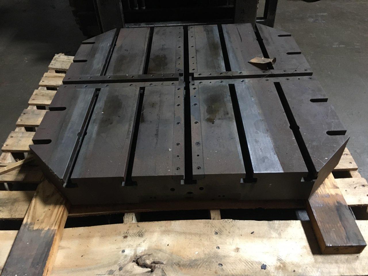 """32"""" X 32"""" X 4"""" Sub-Plate (5) 3/4"""" T-Slots"""