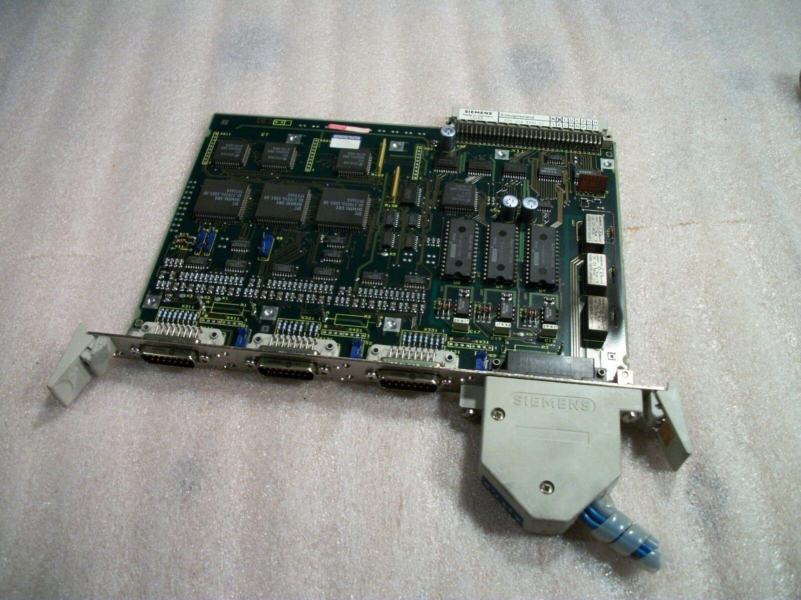 Siemens CNC Control Circuit Board 570 214 9201.01 / OE 570214.0003.01