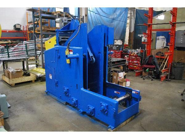 8,000 LB CWP COIL CRADEK STRAIGHTENER COMBINATION UNCOILER : STOCK #13908
