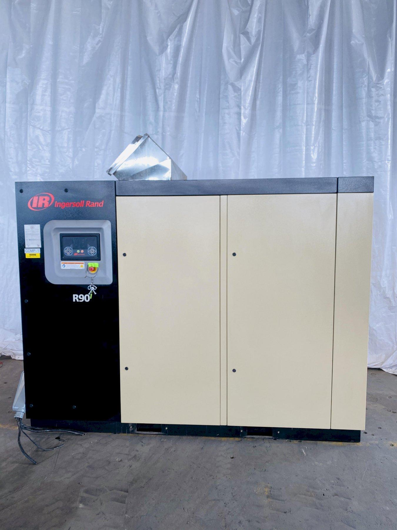 125 HP INGERSOLL-RAND MODEL R90I-A125 ROTARY SCREW AIR COMPRESSOR. STOCK # 0631320