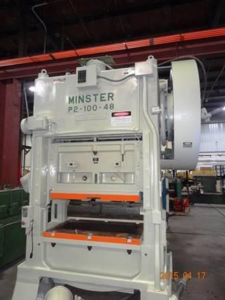 MINSTER 150 TON MODEL P2-150  SSDC PRESS