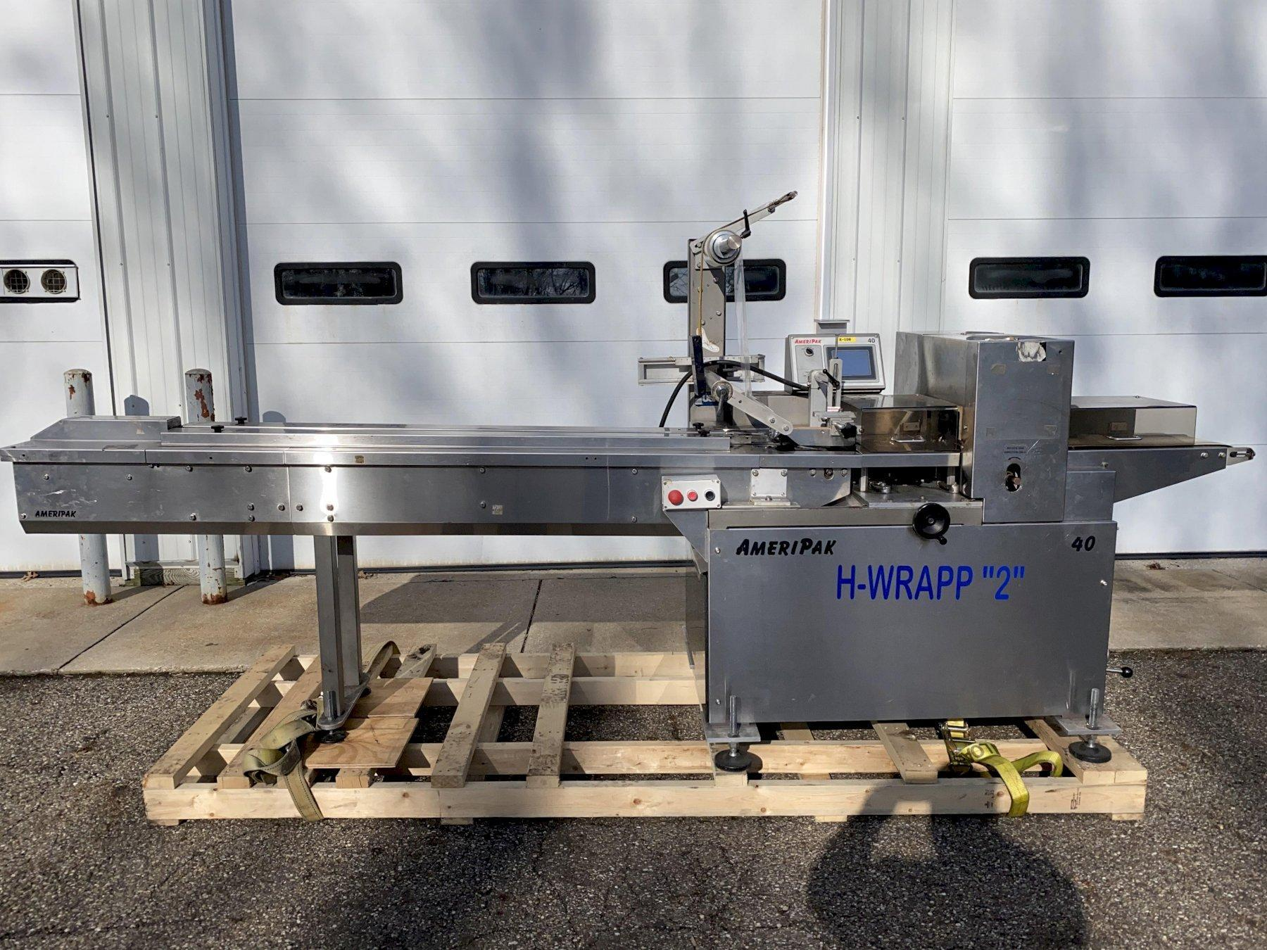 AmeriPak Model 40 Horizontal Flow Wrapper / Horizontal Rotary Wrapper