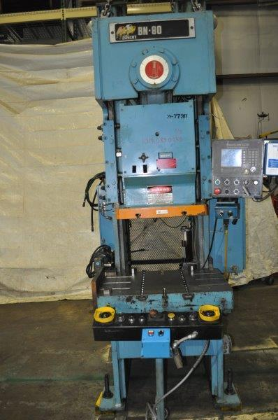 88 TON NIAGARA GAP FRAME PRESS