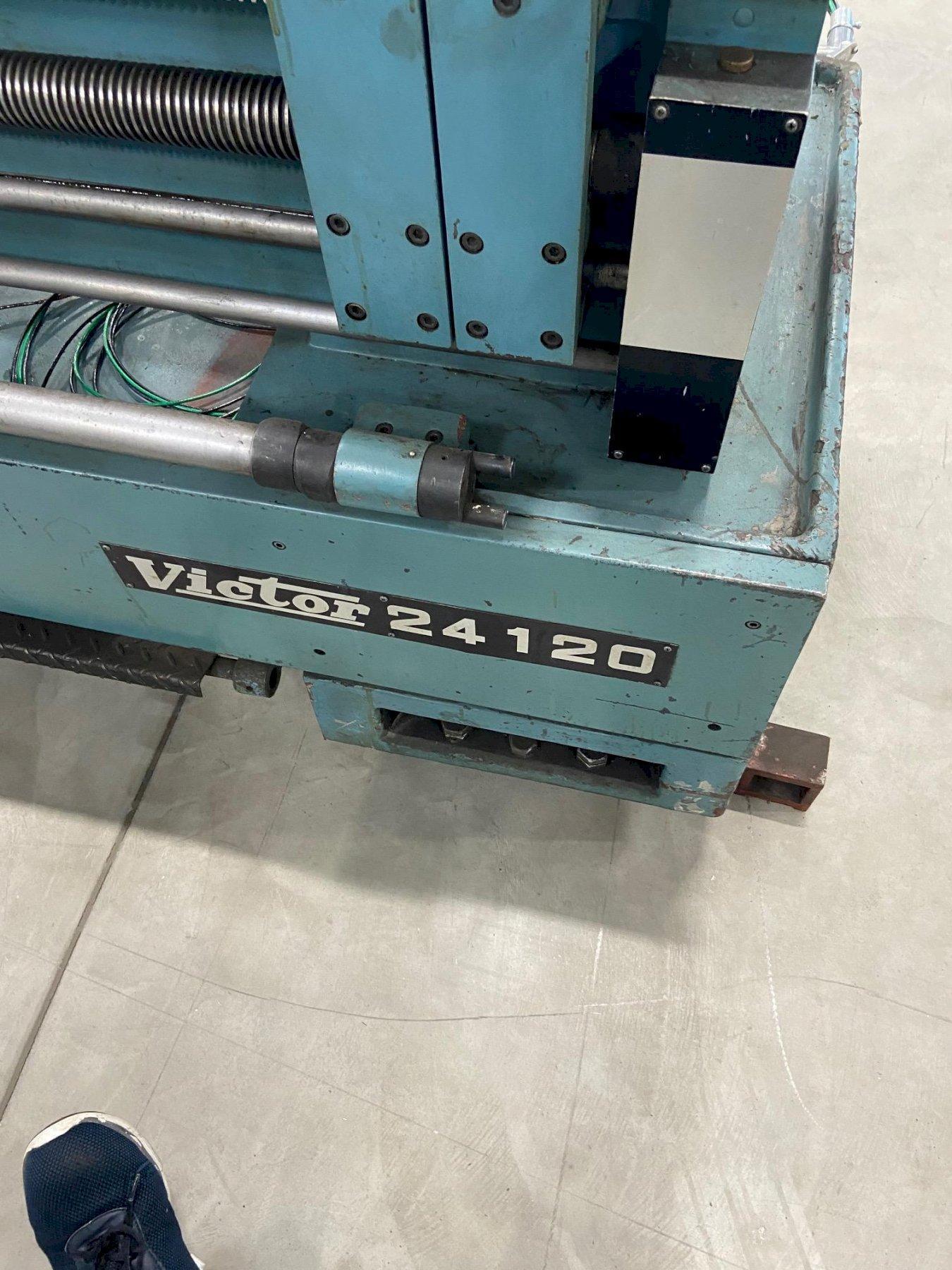 """24"""" X 120"""" VICTOR LATHE. STOCK # 0104821"""