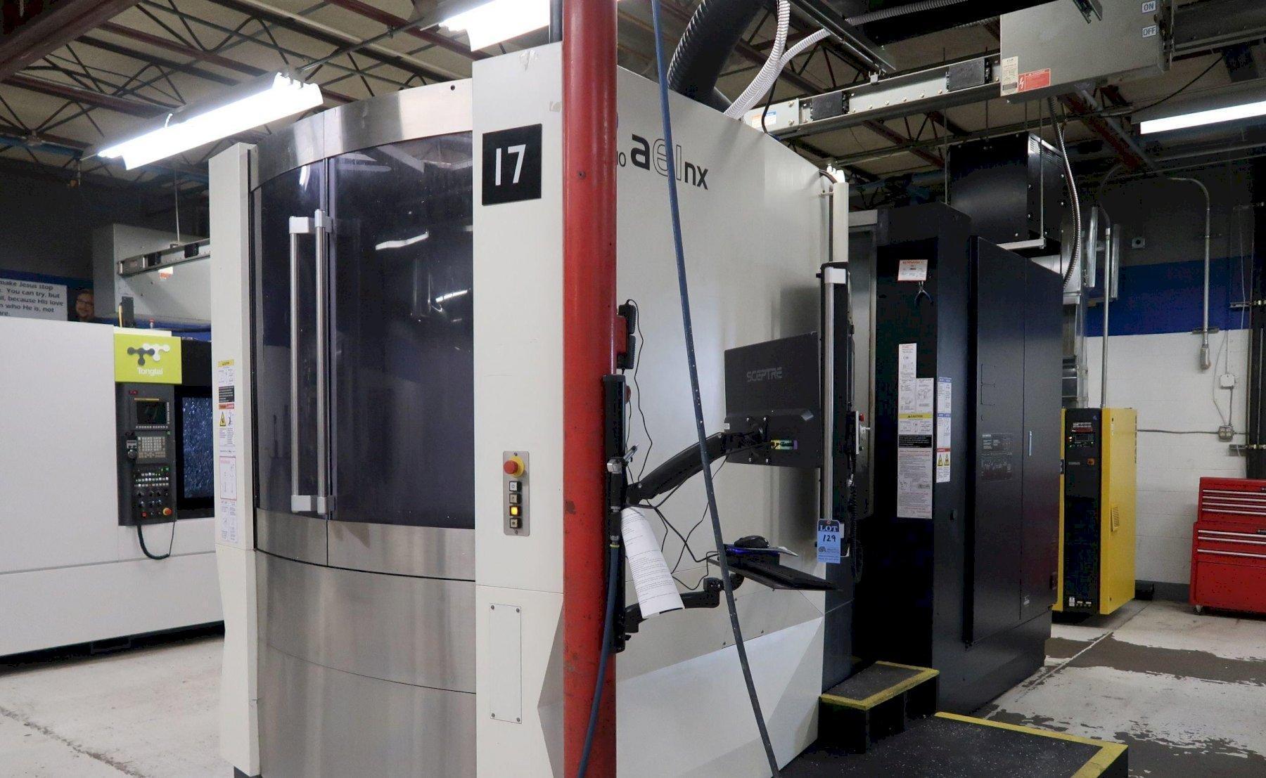 MAKINO MODEL A61NX CNC HORIZONTAL MACHINING CENTER