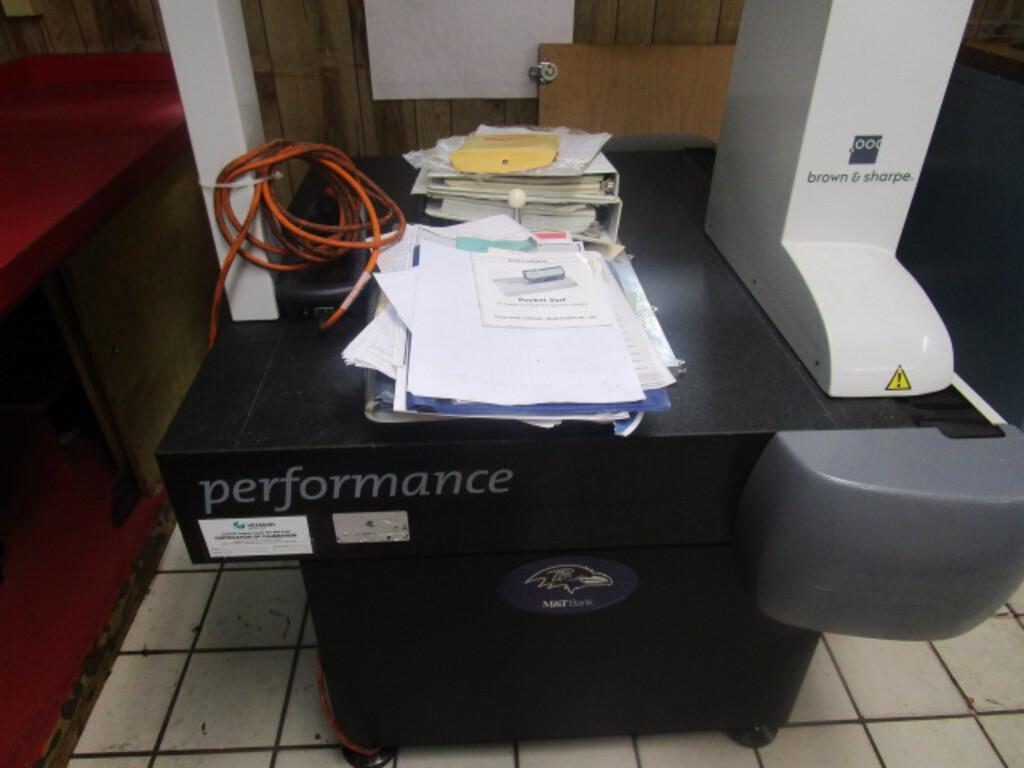 BROWN & SHARPEBrown & Sharpe Global Performance 5.5.5 CNC Coordinate Measuring Machine (CMM)