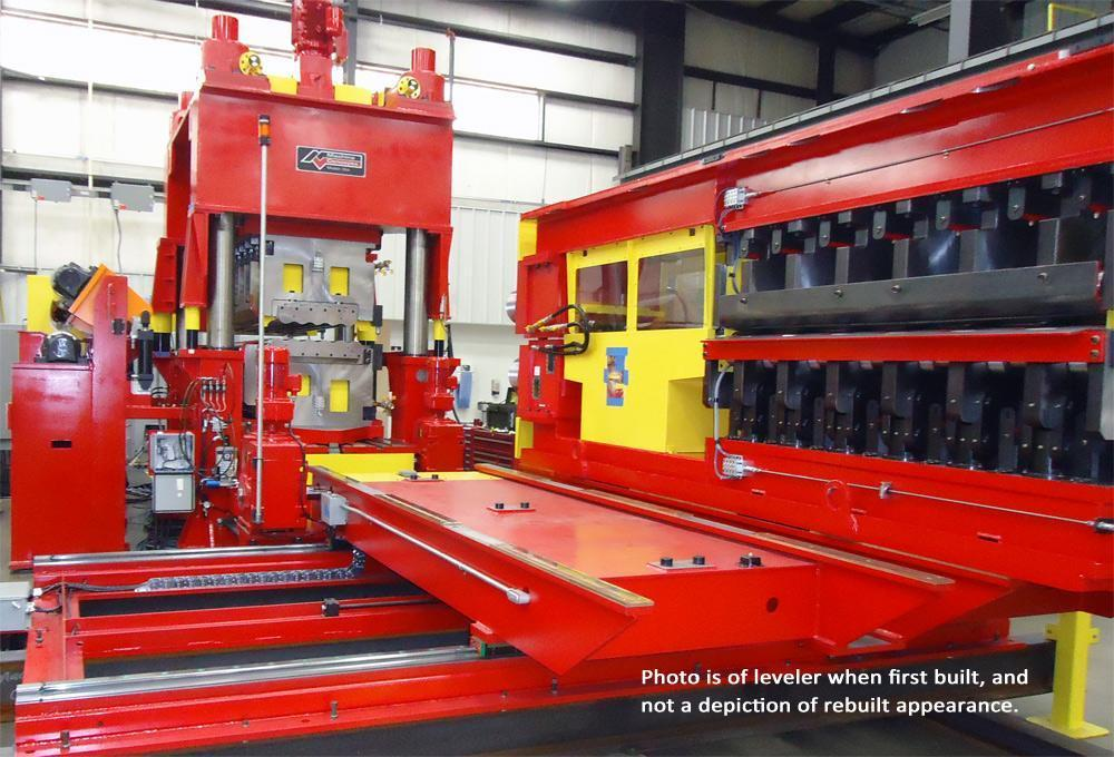 """72"""" x 1/2"""" Machine Concepts Cassette Leveler NEW 2013  (Completely Rebuilt and in New Condition)"""