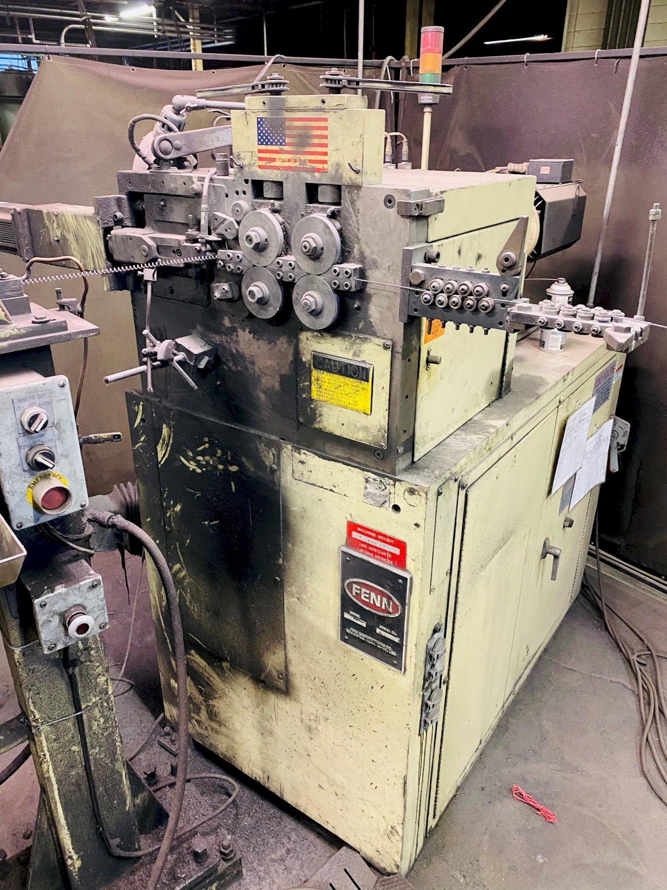 .080 FENN TORIN Z11 SPRING COILER MACHINE. STOCK # 1266120