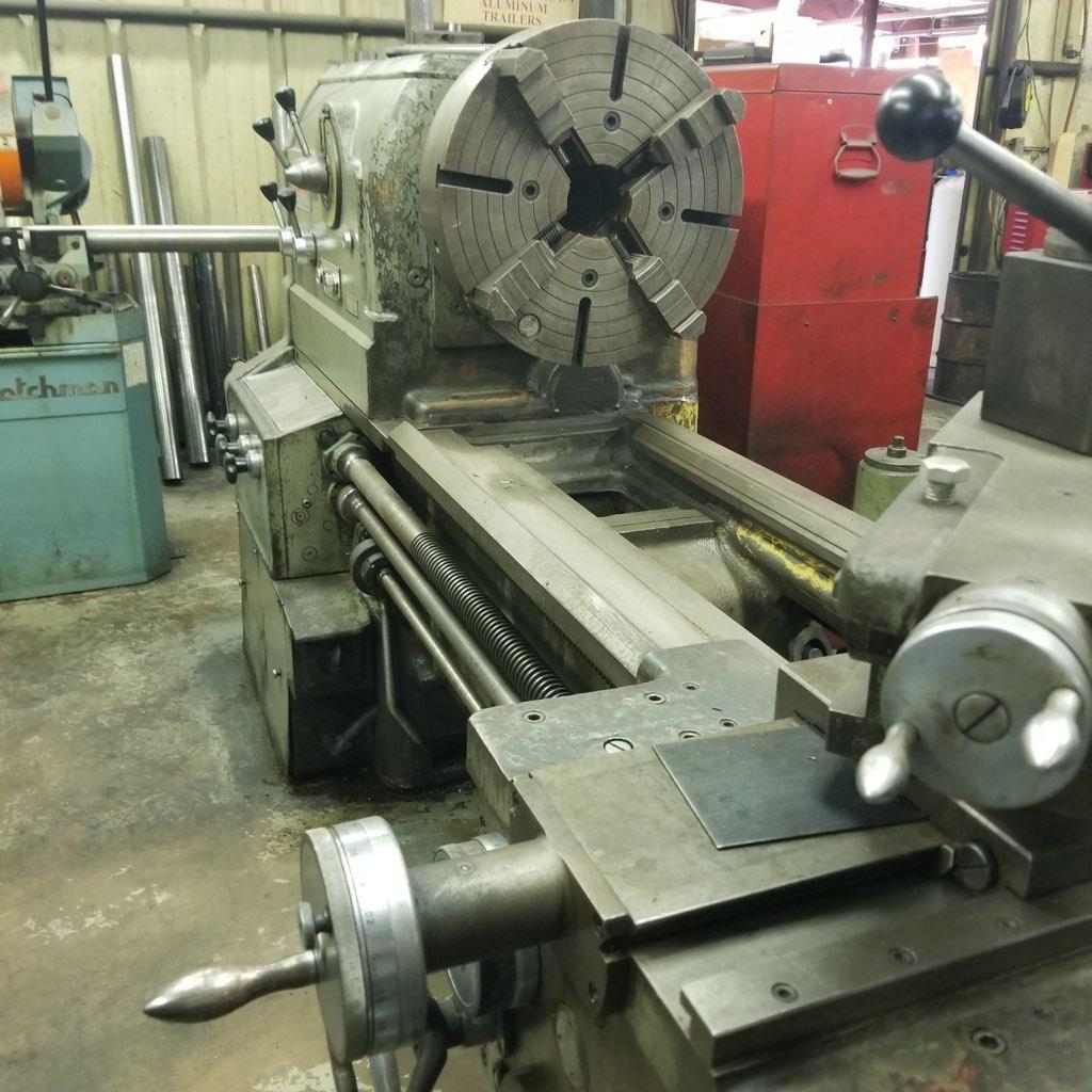 "36"" X 84"" LION C13 B ENGINE LATHE. STOCK # 2000220"