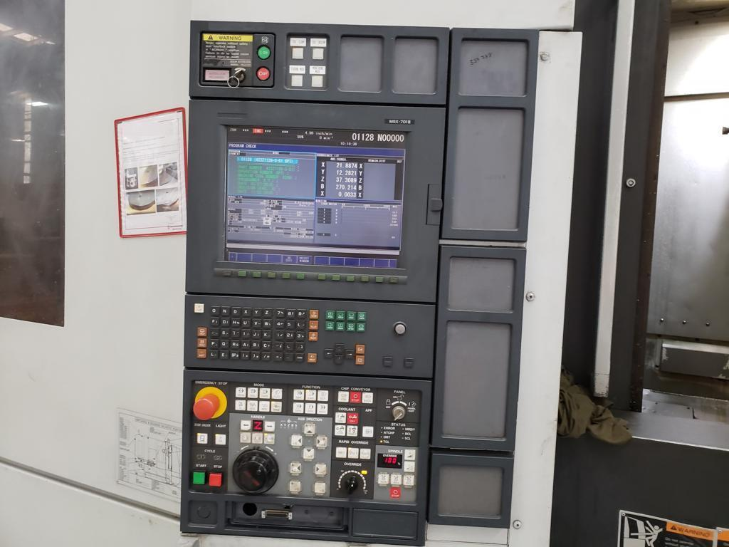 Mori Seiki NH5000/50dcg CNC Horizontal Machining Center