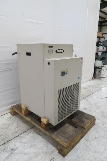 AEC / Sterling Used SMCA050 Chiller, 0.5 ton Air Cooled Chiller, 230V, Yr. 2017