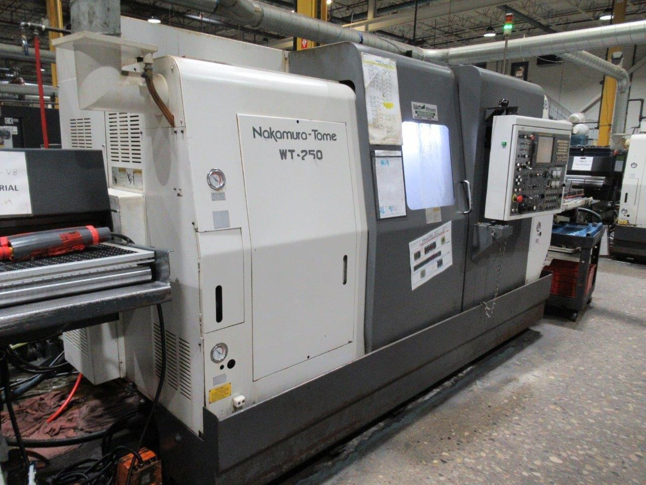 NAKAMURA TOME WT-250 (8x Machines Available)